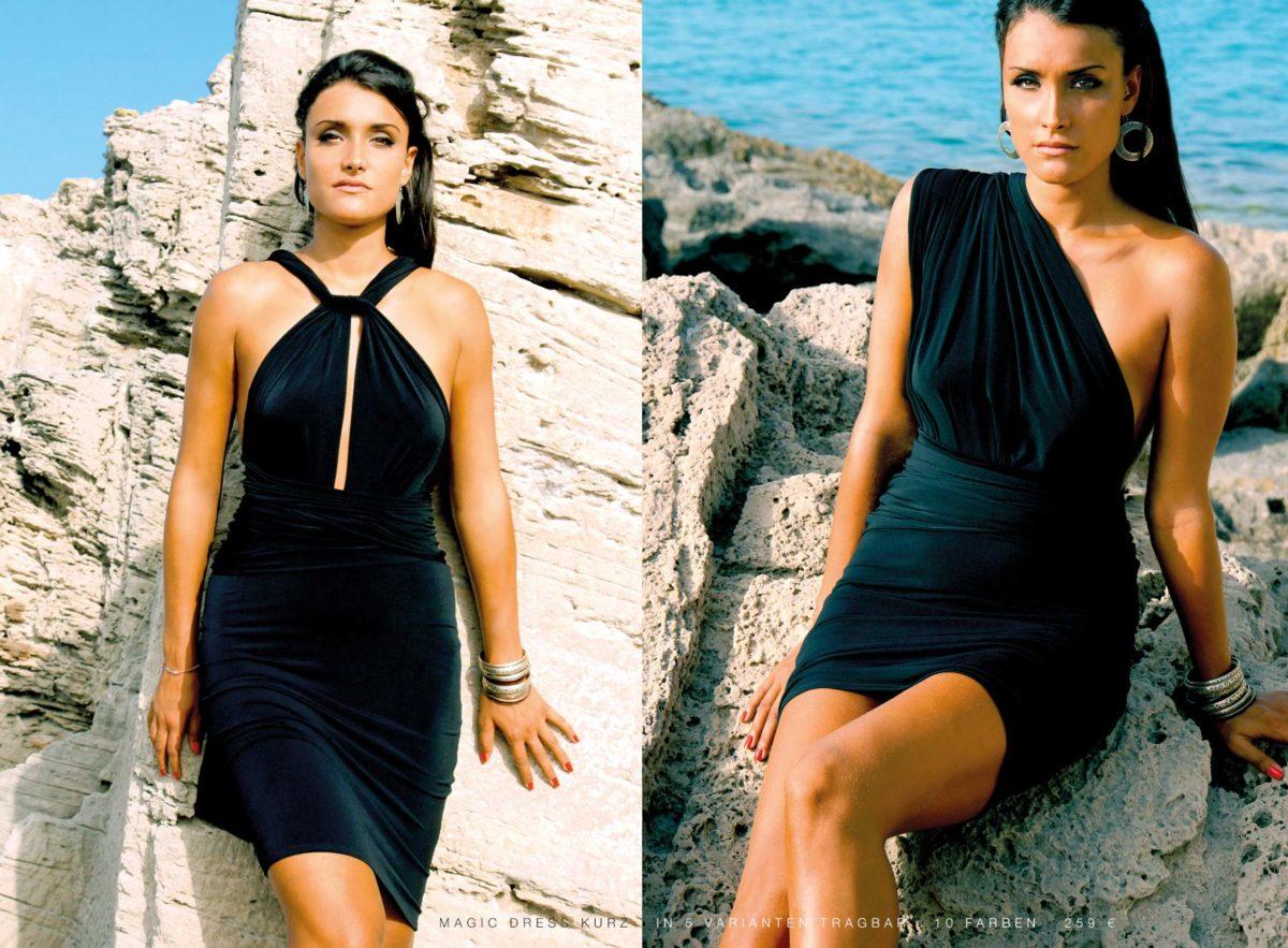 Sommerkleid Abendkleid kurzes Kleidchen